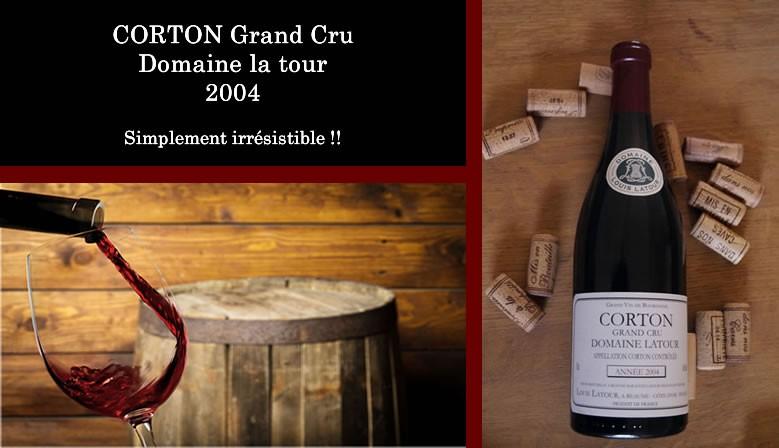 Aloxe Corton grand cru domaine Latour 2004